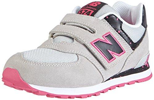 New Balance KG574, Sneakers Bambino Grigio (PSY GREY/PINK)