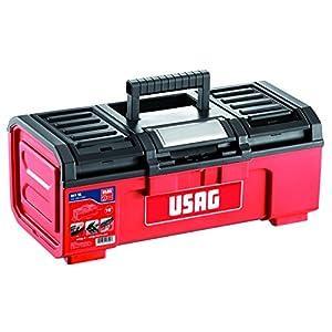 USAG U06410004 – Caja de herramientas de 16″ (vacía)