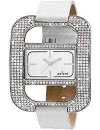 Axcent of Scandinavia Axcent of Scandinavia - Reloj analógico de cuarzo para mujer con correa de piel, color blanco