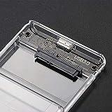 Vvciic HUB USB 3.0 SATA HD Box 2.5inch SSD HDD Disk Drive HDD Rigido Esterno Caso Trasparente