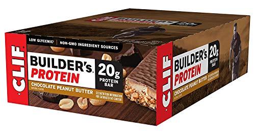 Clif Bar - Barritas de proteínas de Builders 12 x 68 g de manteca de cacao