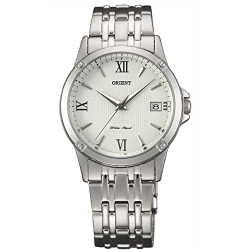 Orient FUNF5003W0 33mm Silver Steel Bracelet & Case Mineral Women's Watch