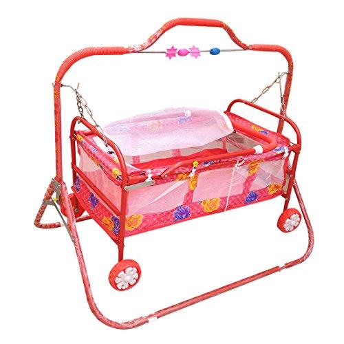 Confiado red bassinet for baby