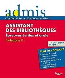 Assistant des bibliothèques : Epreuves écrites et orales catégorie B