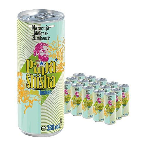 Molkenmischerzeugnis Papa Shisha exotic 15er-Set (je 330 ml pro Dose)