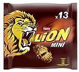 Nestlé Lion Mini Schokoriegel mit Karamell, 4er Pack (4 x 13 Riegel, 4 x 234g)
