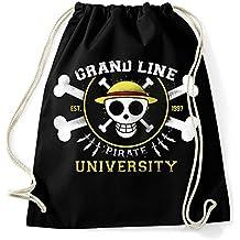 35mm - Mochila   Bolsa Grand line Pirate University One Piece 3429728ec36