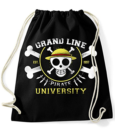35mm - Mochila / Bolsa Grand line Pirate University One Piece, Unisex,