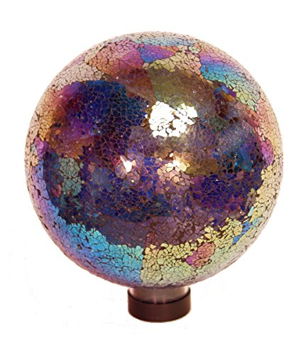 Echo Valley 8195 Mosaik Kugel 25,4 cm, Blau Traditionell 10-Inch Arco Iris -