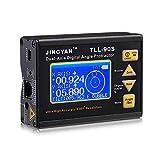 KKmoon TLL-90 Double-Axe Numérique Niveau Inclinomètre Rapporteur d'Angle Professionnel Super Haute Précision Angle Meter 0,005 avec Affichage à Cristaux Liquides 100-240V 50 - 60Hz