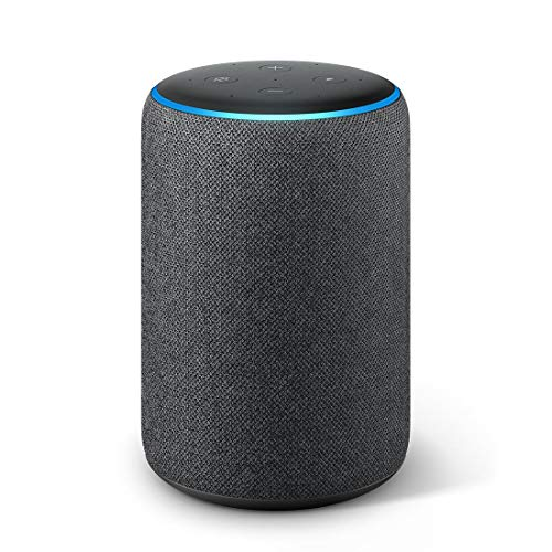 All-new Echo Plus (2nd gen) – Premium sound with a built-in smart home hub-Black