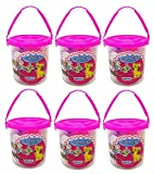 #6: Majik Bright Color Reusable And Non Drying Modeling Clay For Kids, Multicolour, 60 Gram, 6 Pcs, Pack Of 1