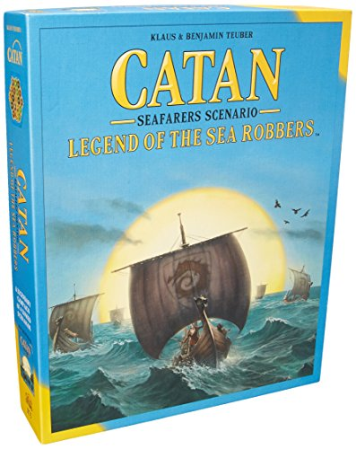 Catan Legend of the Sea Robbers - English