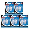 10 x Eveready branded G9 40W Halogen Light Bulbs Clear Capsule Lamps Long Life from Eveready