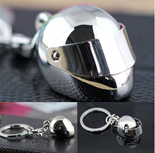 Motorbike And Helmet Keyring Great Gift For Any Biker