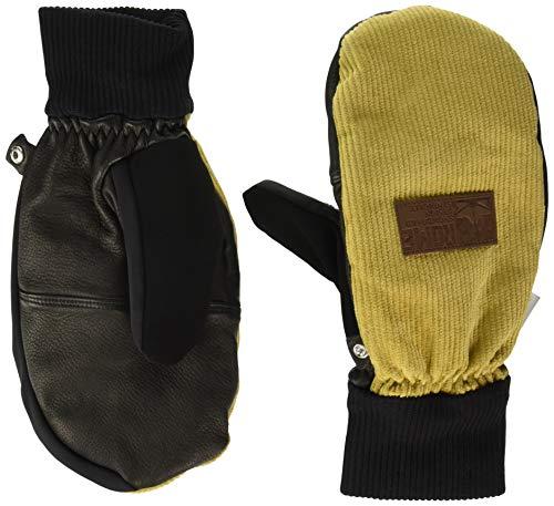 Top-grain-rindsleder-handschuhe (Rom Snowboards Herren Team Mitt snowboarding-gloves, Herren, 19GL3007125, Corduroy, xl)