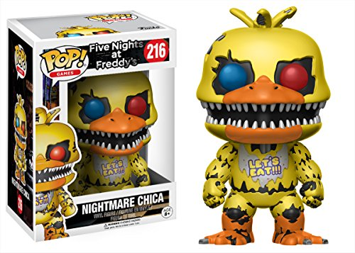 Pop Five Nights at Freddies Nightmare Chica Vinyl Figure