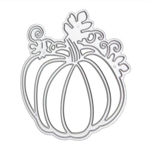 n Formen Fledermaus Deko DIY Prägung Scrapbooking Papier Karte Crafts Schablonen Silber kürbis (Halloween-kürbis-designs Schablonen)