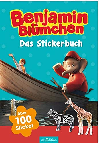 Benjamin Blümchen - Das Stickerbuch: Über 100 Sticker