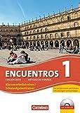 Encuentros - 3. Fremdsprache - Edición 3000 / Band 1 - Schulaufgaben- und Klassenarbeitstrainer: Mit Audio-Materialien und eingelegten Musterlösungen