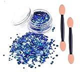 Best Wet Brush Nail Brushes - eBuy blue chunky glitter cosmetic glitter festival glitter Review