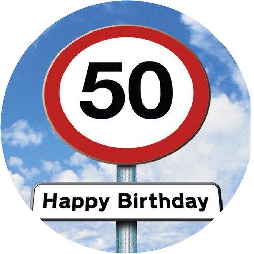 Tortenaufleger 50.Geburtstag 01
