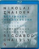 Nikolaj Znaider: Violin Concertos Beethoven & Mendelssohn [Blu-ray]