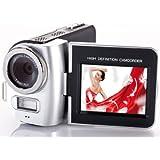 Aiptek AHD T8 Pro Caméscope numérique à Carte Mémoire Full HD 5 Mpix Zoom 4x Argent