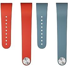 Sony SWR310 - Kit de correas rojo y azul tamaño L