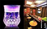 SLEMON LED Blinklicht Tasse Whisky-Cocktail-Wein-Bier-Becher LED-Blitzlicht Ananas geformte für Club / Bar / Party / Feier / Hochzeit Weihnachtsgeschenk Dekoration.