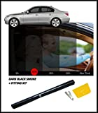 Best Window Tints - DARK BLACK CAR WINDOW FILM TINT 15% 76cm Review