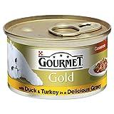 Gourmet Gold Mit Ente Und Truthahn In Einer Köstlichen Soße (85 G)