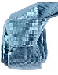 Tony & Paul - Cravate Soie Italienne, Tevere Bleu