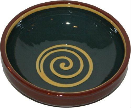Amazing Cookware Bol Spirale 20 cm, Vert/Jaune