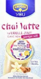 KRÜGER Chai Latte Classic India Typ Vanille Zimt weniger süß, 4er Pack (4 x 0.14 kg)
