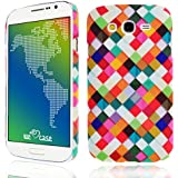 We Love Case Funda para Samsung Galaxy Grand Neo Plus I9060 Carcasa Duro Hard PC Cascara Protección Anti Polvo Resistente Diseño Creativo Original de Moda Nuevamente (Samsung Grand Neo Plus, dibujo Multicolor)