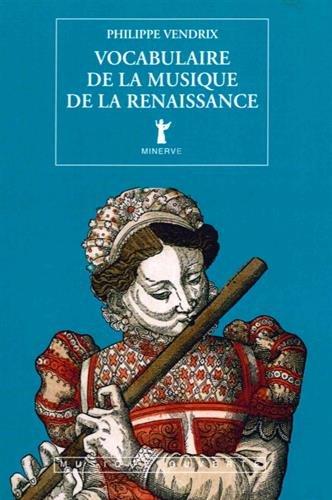 Vocabulaire de la musique de la renaissance