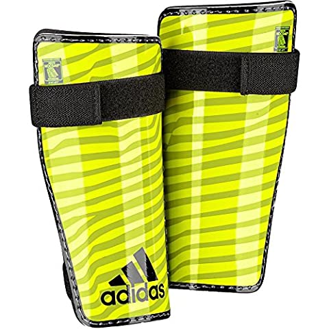 adidas Lite Protège-tibias Solar Yellow/Black Taille M