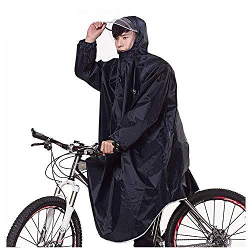egenmantel Adult Electric Motorrad verdicken Erhöhung Spot Großhandel Cross-Border Supply Sleeve Poncho (Color : Black, Size : XL) ()