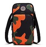 Tutoy Bewegung Der Handy-Tasche Anti Tragbaren Arm Mit Männern Und Frauen Reiten Running Outdoor-Pakete-Orange