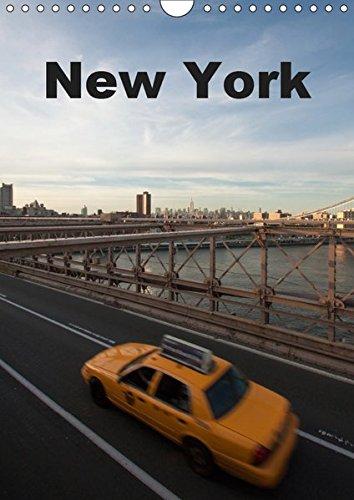 New York (Wandkalender 2019 DIN A4 hoch): Ein Kalender im Hochformat, der die ganze Pracht New Yorks präsentiert. (Monatskalender, 14 Seiten ) (CALVENDO Orte) -