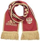adidas Fan-Schal im Design des russischen Heimtrikots Country Fashion Scarf Russia, Collegiate Burgundy/Dark Football Gold, OSFM