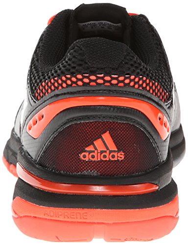 Adidas Volley LumiÚre Womens Volleyball Shoe 6.5 Rouge-blanc-noir Red-White-Black