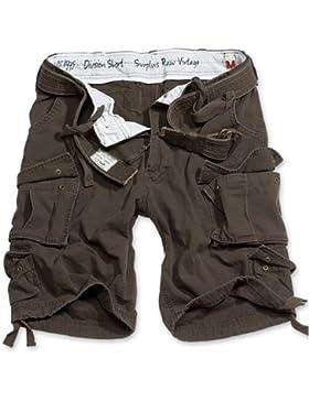 Surplus Division Pantalones Cortos Marrón tamaño L