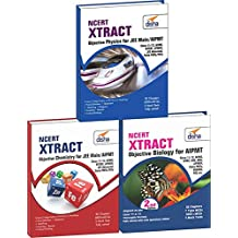 NCERT Xtract - Objective Physics, Chemistry, Biology for AIPMT, Class 11/ 12, AIIMS, JIPMER, BHU, AMU, State PMTs (Set of 3 Books)