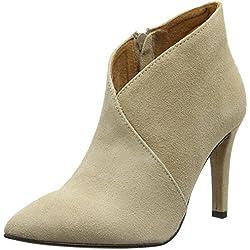 SELECTED FEMME SFALEXANDRA HIGH HEEL BOOT, Damen Kurzschaft Stiefel, Beige (Sand), 41 EU