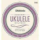 D'Addario Cordes Nyltech pour ukulele D'Addario EJ88C, Concert