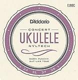 D'Addario EJ88C - Juego de cuerdas para ukelele de concierto