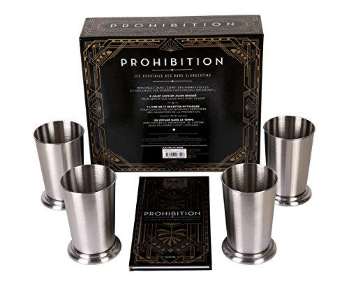 Coffret Prohibition: Les cocktails des bars clandestins