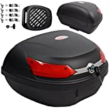 A-pro Top Case Box 46 LT Universal Quick Rlease Motorcycle Scooter Luggage Quad